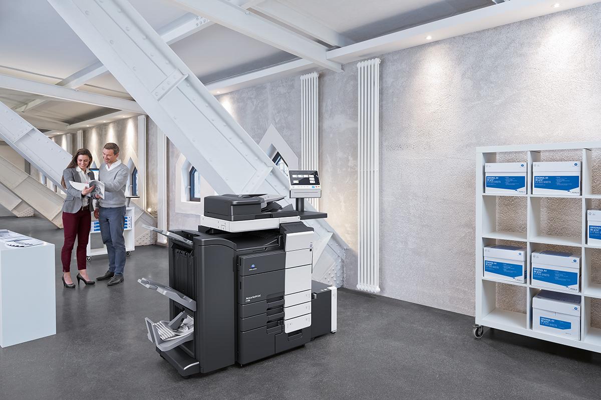 Giải pháp in ấn sản xuất Konica Accrurio Print c759